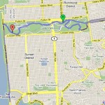 Nice route through the Golden Gate park and along the coast